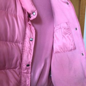 Old Navy extra large pink puffer vest